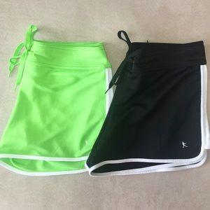Bundle of 2 Danskin Active Shorts